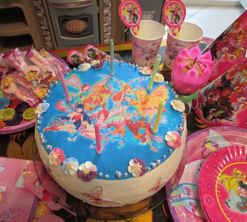 Как сделать торт винкс фото 218