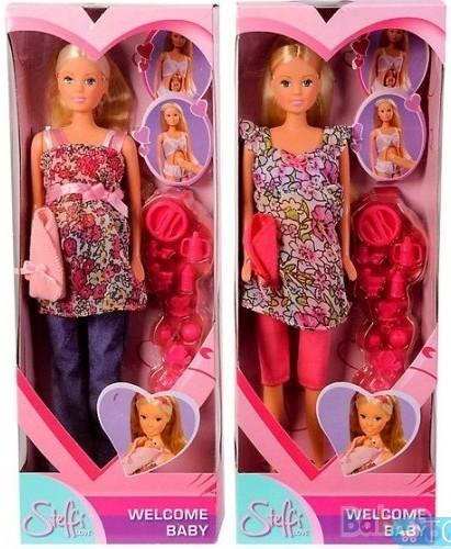 5734000 кукла штеффи беременная