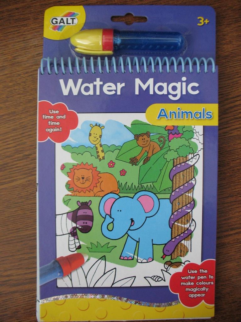 раскраски водой Galt Toys Inc Animals Water Magic Kit Mama