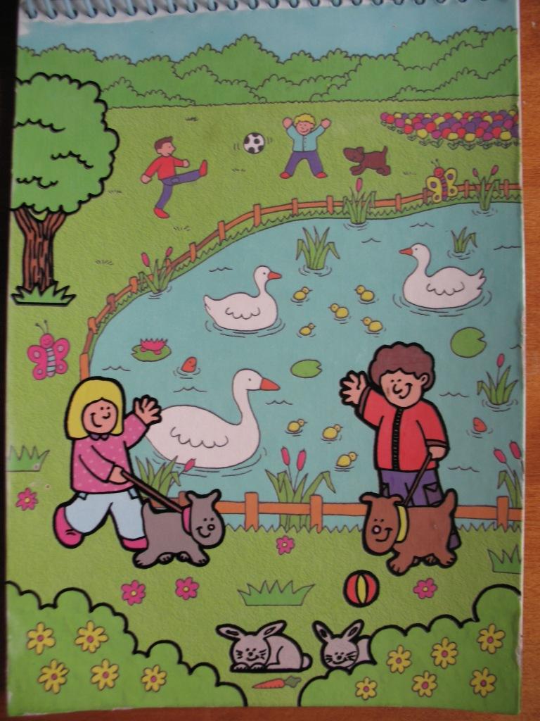 Раскраски водой Galt Toys Inc Animals Water Magic Kit ...