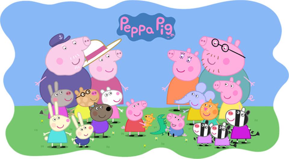 мультфильм пепа свинка смотреть все серии подряд