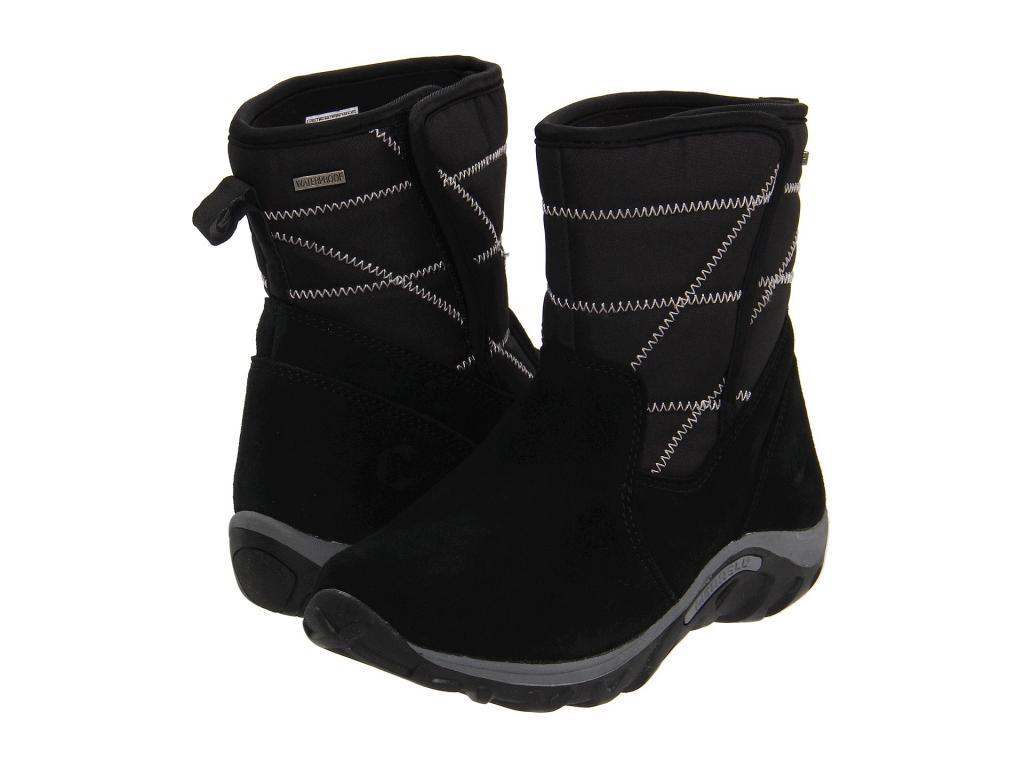 Merrell Kids Jungle Moc Quilted Waterproof Boot (Toddler Little Kid Big  Kid) MSRP  65.00 cf2c05130ea4b