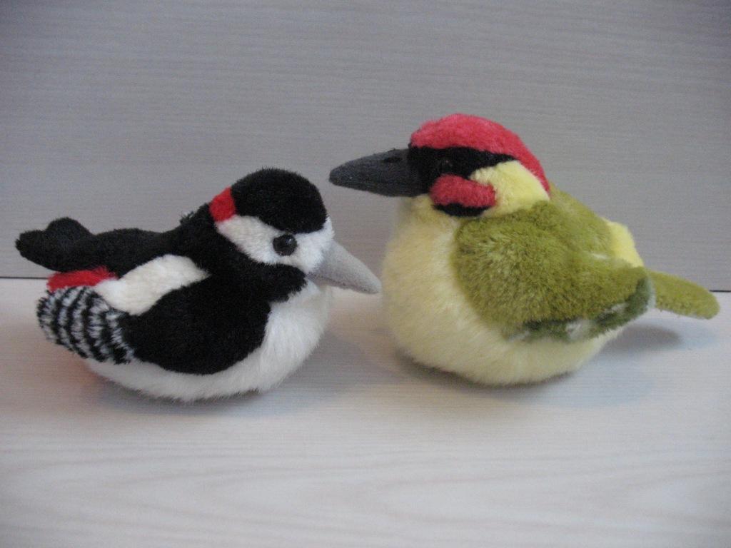 Птички мягкие игрушки