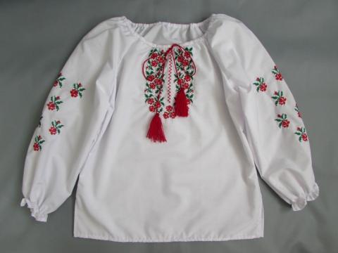 Вышиванки для девочек своими руками