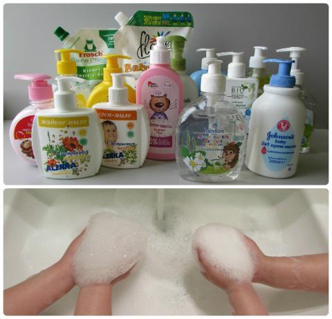 Как сделать из жидкого мыла твердое